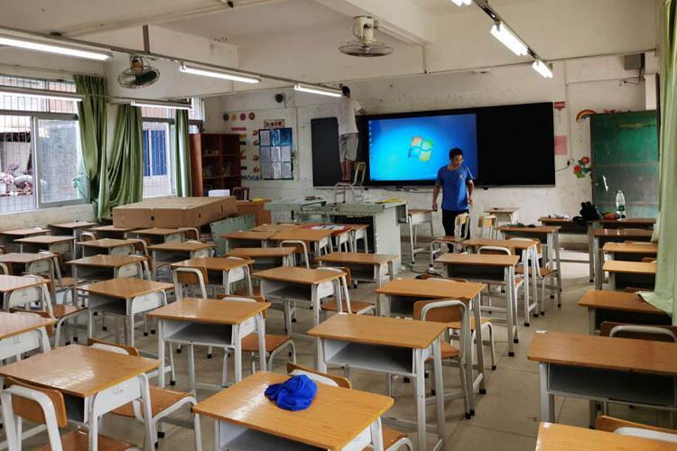 【纳米黑板应用案例】入驻清远市阳山县实验小学