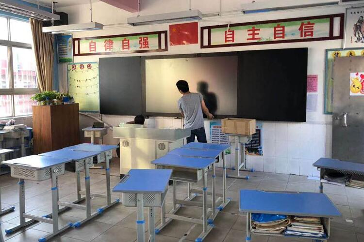 【纳米黑板应用案例】入驻西藏仲巴县23所幼儿园