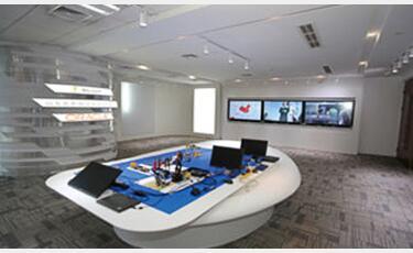 智能会议平板展厅应用