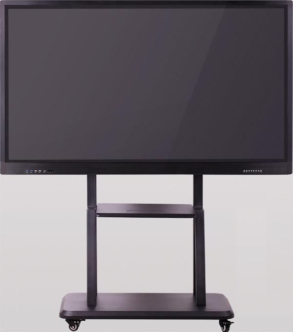 65英寸黑色款落地式多媒体教学一体机