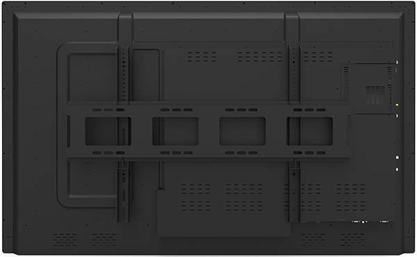黑色款壁挂式教学一体机背面图