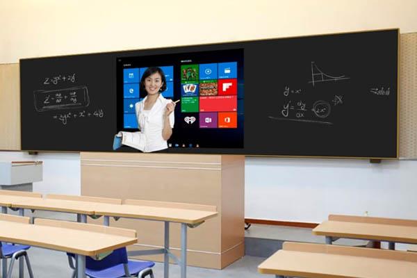 智慧教室纳米黑板一体机