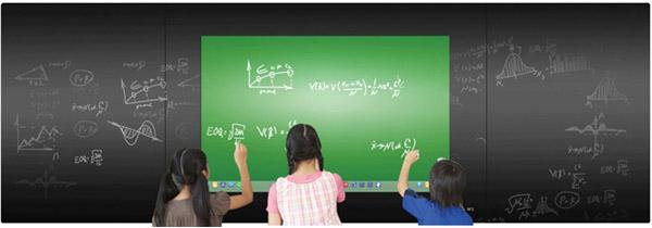 纳米黑板双向触控互动特性