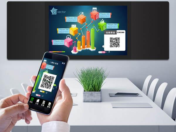会议室多功能嵌入式纳米触控黑板