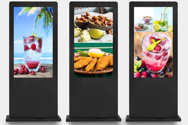 55英寸触摸屏户外立式广告机(黑色竖屏款)