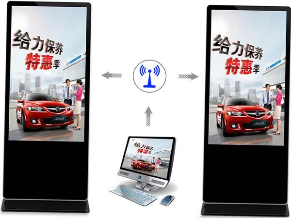 触摸广告机网络远程发布