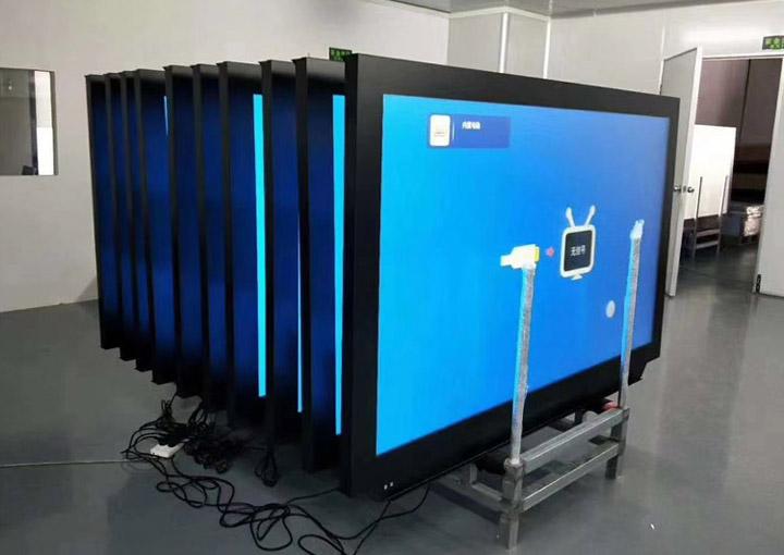 湖南大学102台【75寸纳米触控黑板】应用案例