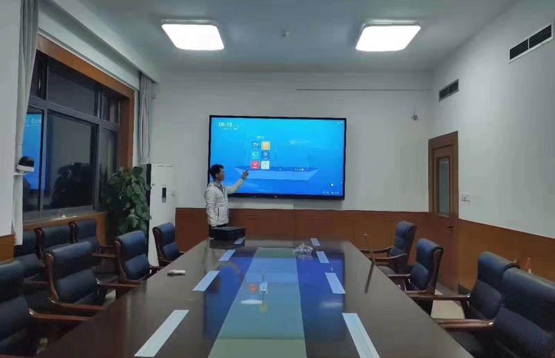 河北省高阳县政府【86寸会议一体机】应用案例