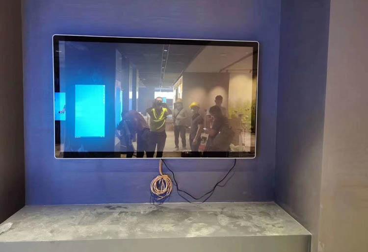 江西展厅项目【四等边电容一体机】应用案例