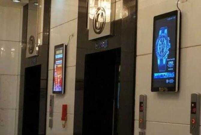 小区楼宇电梯壁挂广告机