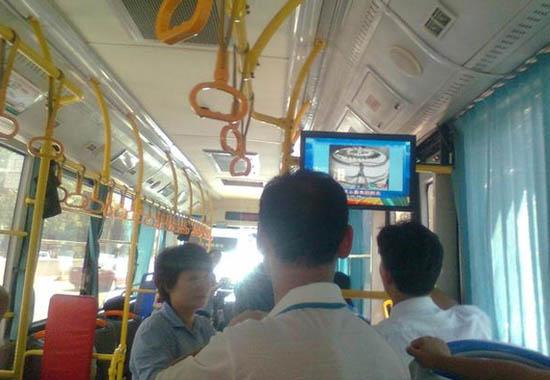 公交车车载广告机