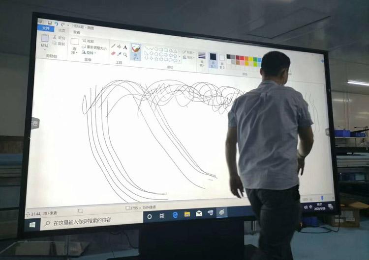 110寸电子白板触控教学一体机