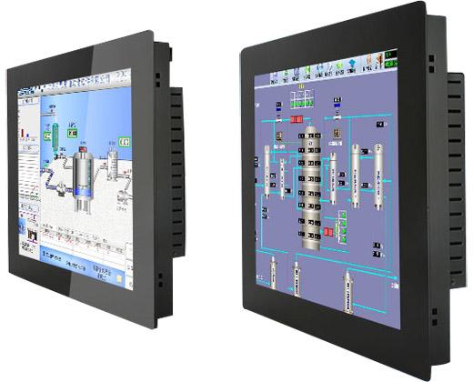 全封闭式PLC电阻屏工业触控一体机图2