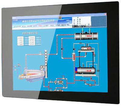 全封闭式PLC电阻屏工业触控一体机图6